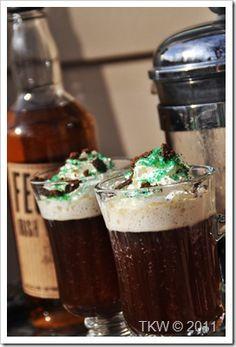 Thin Mint Irish Coffee