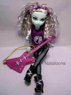 Frankie Stein is a Rock Star! by Nataloons™, via Flickr