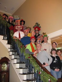 Crazy Hat Party | john and ted's crazy christmas hat party | Flickr - Photo Sharing!