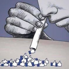 Techno ©: 'The Social Media Epidemic' ('The Social Media Addiction'). Pictures With Deep Meaning, Art With Meaning, Foto Pal Face, Social Media Art, Satirical Illustrations, Meaningful Pictures, Deep Art, Political Art, Pencil Art Drawings