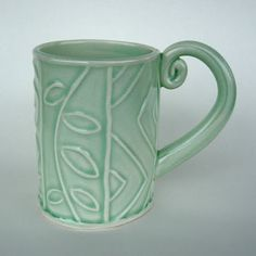 pottery slab cup - Google Search