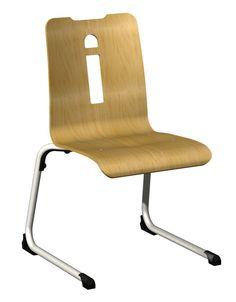 CHAISE STYLA LUGE APPUI SUR TABLE ET EMPILABLE #chaise #chair #fauteuil #siegerestauration #equipementrestaurant #empilable #appuisurtable