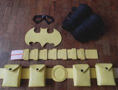 DIY Stephanie Brown batgirl costume