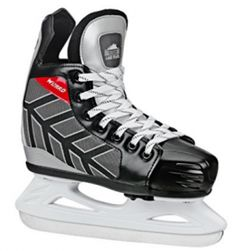 Your child will love skating wearing the comfortable and stylish Roller Derby Wizard 400 Adjustable Ice Skates. Easy-to-use push button adjusts skates, and the woven lining keeps feet warm, while the stainless steel blades offer long-lasting use. Skate Boy, Skate Wear, Youth Hockey, Ice Hockey, Alexander Mcqueen, Figure Ice Skates, Roller Derby Skates, Skate Store, Shoe Manufacturers