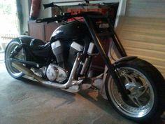 LMC Hardline Lenker Harley Custom Intruder Suzuki VS Yamaha WildStar Thunderbike   eBay