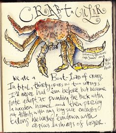 Crab - by Danny Gregory