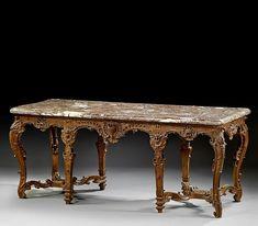 TABLE A GIBIER D'EPOQUE REGENCE, VERS 1710-1720