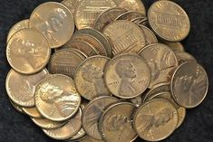 Lot of 50 1968-1998 BU Lincoln Cents in Mint Cello Mixed Dates One roll