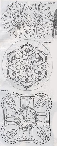 Техника гипюрного кружева для начинающих