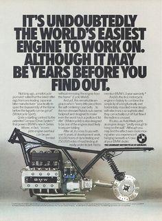 BMW K-Bike ad