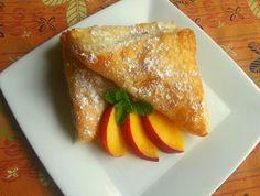 Peach Empanadas - Que Rica Vida