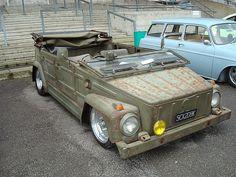 volkswagen thing, rat-style