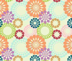 """""""Retropattern"""" fabric on Spoonflower"""