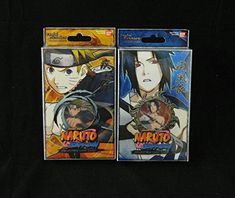 Naruto Fateful Reunion TCG CCG Starter Deck Set - 2 Different - 50 Cards