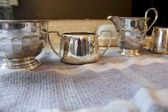 How to Clean Really Tarnished Silver Naturally!   The Creek Line House   Natural Solutions Clean Gold Jewelry, Cleaning Silver Jewelry, Keep Jewelry, Jewelry Shop, Jewelry Rings, Cleaning Tarnished Silver, How To Clean Silver, Jewelry Cleaning Solution, House Cleaning Tips