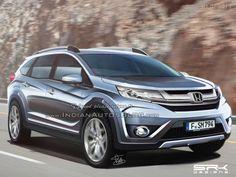 Автофория: Honda BR-V кроссовер семиместный на основании офиц...
