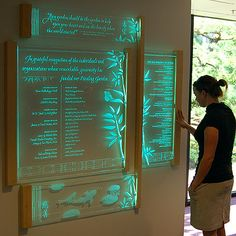 donor recognition walls | Click here to visit our gallery of completed projects.