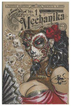 steampunk Dia de los Muertos!