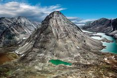 The Torngats Mountains in the Torngat Mountains National Park, Canada, are made out of some of the oldest rock in the world (Credit: Barrett & MacKay) The Globe and Mail