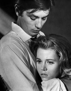 Alain Delon and Jane Fonda