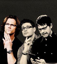 Jared, Jensen, and Misha