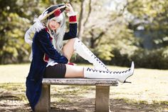 Fem!Prussia cosplay. THIS. IS. AMAZING.