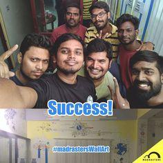 Success! MadrastersWallArt Starberry  #madrastersWallArt #kovai  #madrasters…