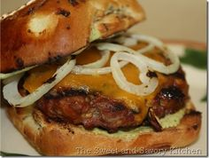 Andouille Burger