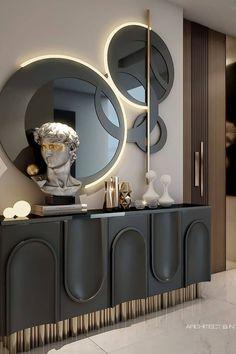 Interior Design Inspiration, Home Interior Design, Interior Decorating, Design Ideas, Luxury Interior, Luxury Furniture, Furniture Design, Foyer Design, House Design
