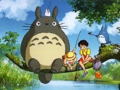My Neighbor Totoro (1988) - Classic Favorite + Award Winning Anime That Helped Bring Japanese Anime To Global Spotlight!