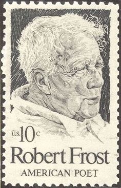 What is a common theme between Robert Frost's