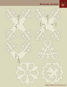 Holiday Ornaments for the Scroll Saw