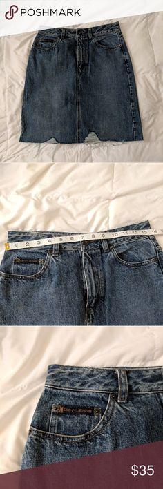 back to denim skirts | THE HIDDEN CLOSETS