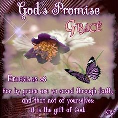 Ephesians 2:8 KJV For by grace are ye saved through faith; and that not of yourselves: it is the gift of God: