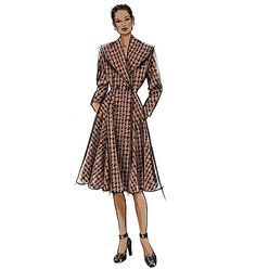 Coat Sewalong with Gertie -- Butterick 5824 in a lovely Dior-style princess silhouette -- kelly green wool, or a gray trench