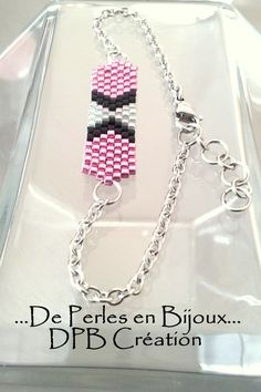 Bracelet tissé perles delicas Miyuki par DEPERLESENBIJOUX sur Etsy