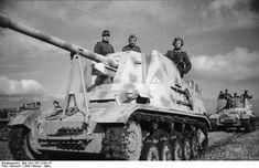 Marder II tank destroyers in the Soviet Union, Feb-Mar 1943.