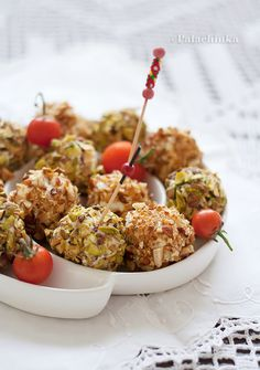 Goat Cheese Truffles with Dried Aprikots