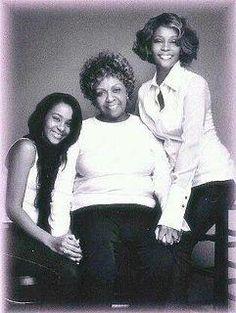 Whitney  Houston  Mom Bobbi Christina