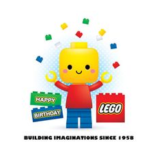 Exploring the world of cute! Lego Birthday, Birthday Board, Birthday Wishes, Happy Birthday, Cartoon Memes, Cartoon Art, Legos, Chibi Disney, Biscuit
