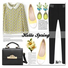 SheIn by cherry-bh on Polyvore featuring polyvore fashion style ANNA BAIGUERA clothing shein