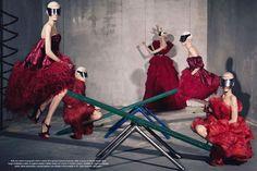 Vogue Italia July 2012, By Steven Meisel