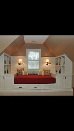If we ever build a decent attic in our house.. I'm all for extra storage space!