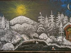 What a Lovely Snow Chalkboard Drawing! Blackboard Drawing, Chalkboard Drawings, Chalk Drawings, Form Drawing, Painting & Drawing, Ancient Aliens, Christmas Chalkboard Art, Chalk Wall, Interactive Whiteboard