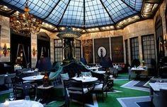 Smak.no: NYTT OG GAMMELT. Palmen på Grand Hotel har beholdt det storslåtte preget etter oppussingen. Foto: Melisa Fajkovic