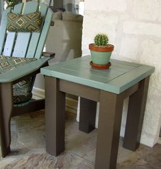 Ana White | Tryde Side Table - DIY Projects