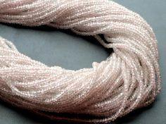 Morganite Beads Morganite Faceted Rondelles by gemsforjewels