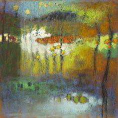 "6-13 | pastel on paper | 14 x 14"" | 2013"