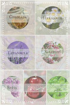 Kulaté samolepky - různé motivy (Round stickers - various designs)
