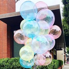 no wrinkle Crystal Bobo Balloon Party Decor Transparent Clear Helium Bubble Balloon Wedding decoration Rainbow Balloons, Bubble Balloons, Latex Balloons, Bubbles, Bubble Birthday Parties, Bubble Party, Birthday Balloons, 21st Birthday, Birthday Ideas